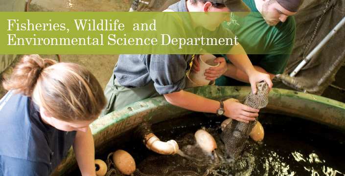 Fisheries, Wildlife, & Environmental Studies Department