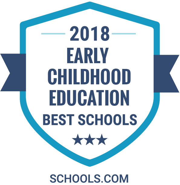 Early Childhood Education Best Schools 2018 Badge from Schools.com